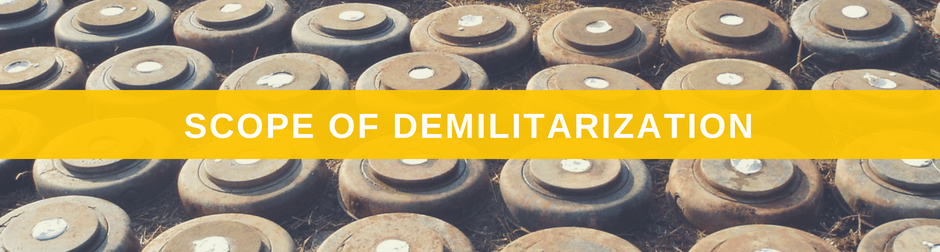 Weapons of War Scope of Demilitarization